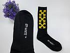 Носки-Гольфы высокие Off-White XXX черные, фото 3