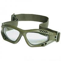 Очки десантные AIRPRO (Olive) прозрачные