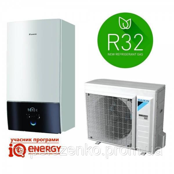 Тепловой насос Daikin ALTHERMA 3 (фреон R-32) на 7,5кВт, отопление/охлаждение