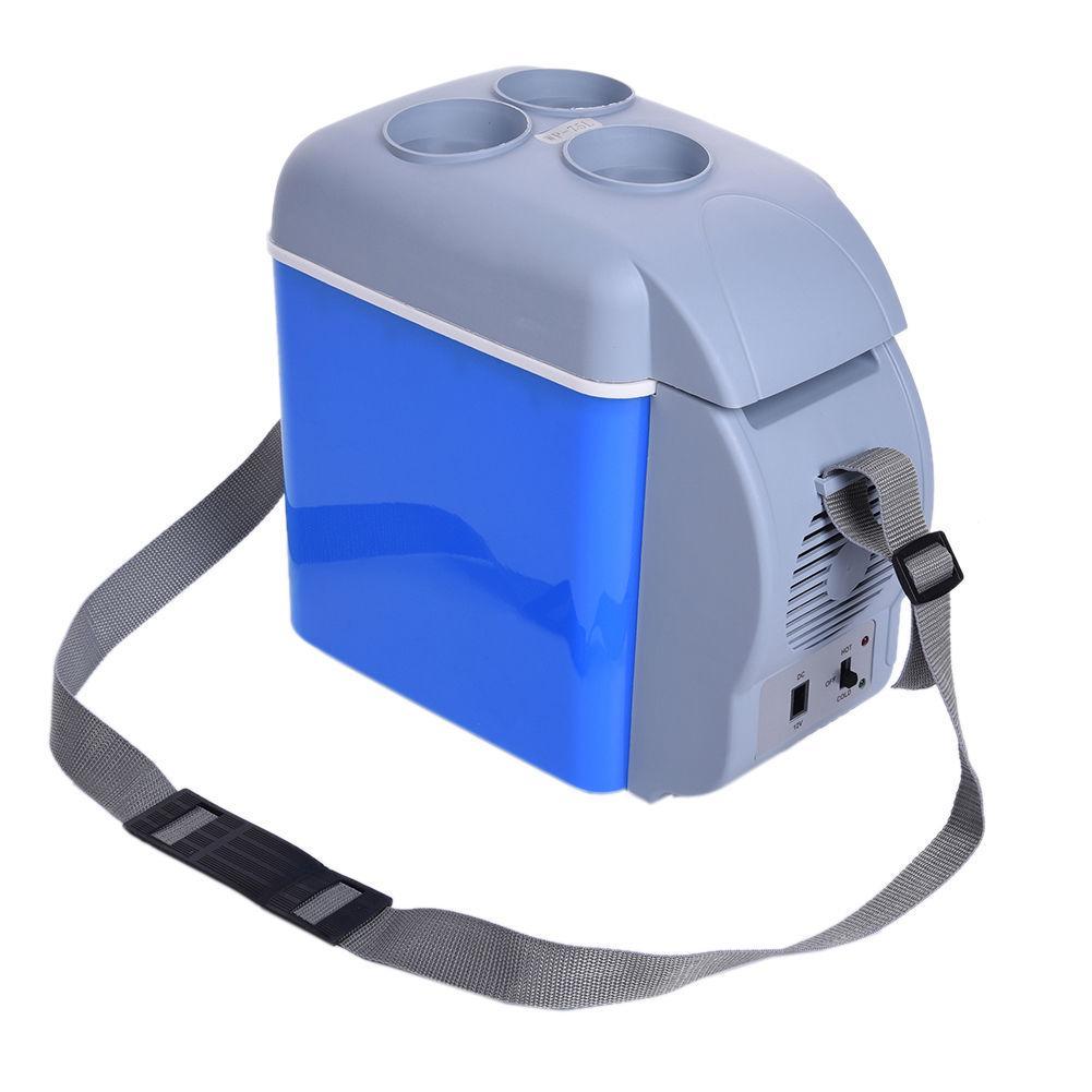 Уникальный портативный автохолодильник от прикуривателя Cooling Warm с функцией подогрева  12V, 7.5л