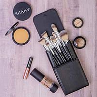 Подарок ко дню матери Набор кистей для макияжа  SHANY Black OMBRÉ Pro 10 PC