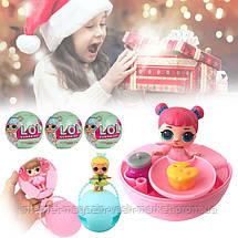 Кукла - сюрприз ЛОЛ - Европейская версия! Кукла LOL Mini в шаре 6 см, Мини Кукла LQL в шарике, Куколка, Скидки, фото 3