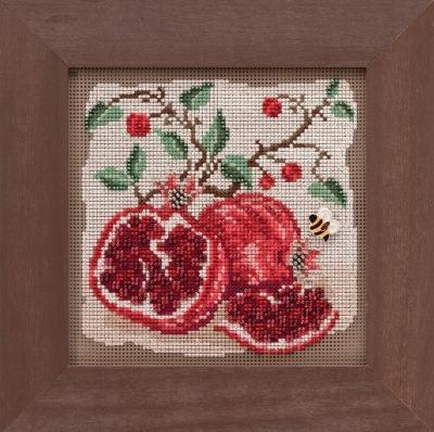 Набор для вышивки Pomegranates / Гранат Mill Hill