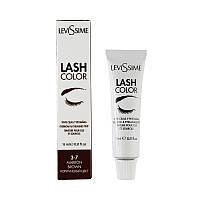 LeviSsime Lash Color Brown - краска для бровей и ресниц коричневая №3-7, 15 мл