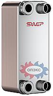 """Паяный теплообменник SWEP В10TНх80/1P-SC-M 4х1""""&22U"""