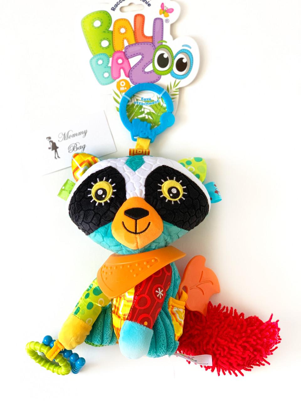 Игрушка с грызуном Енот Ронни Balibazoo (Высота 20 см)