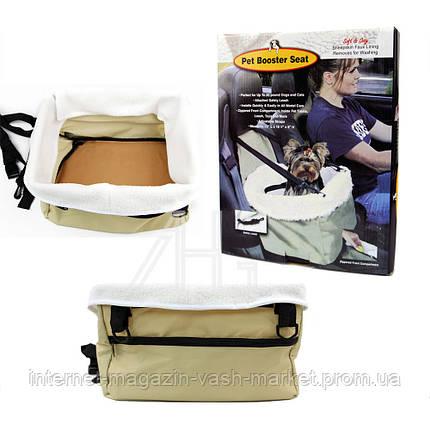 Сумка зимняя для собачек Pet Booster Seat, Качество, фото 2