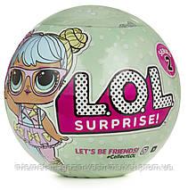 Кукла - сюрприз, Кукла LOL в шаре, Кукла LQL в шарике, Куколка ЛОЛ, Кукла в яйце, серия S2, Скидки, фото 2