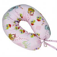 """Подушка для кормления новорожденных и беременных Veres""""Soft"""" 165х70 Soft beige, фото 1"""