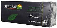 Чай зеленый SunLeaf Dimbulla Green 25п.