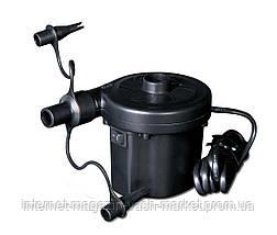 Электрический насос 220В, компрессор для надувных матрасов, бассейнов, лодок, кроватей, фото 3