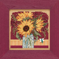 Набор для вышивки Sunflower Bouquet / Букет подсолнухов Mill Hill