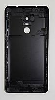 Задня кришка для Xiaomi Redmi Note 4x чорна, фото 3