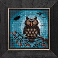 Набор для вышивки Midnight Owl / Полуночная Сова Mill Hill