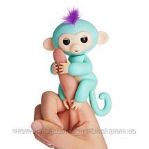 Интерактивная обезьянка Fingerlings (Зеленая), Новинка, фото 2