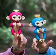 Интерактивная обезьянка Fingerlings (Зеленая), Новинка, фото 3