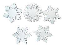 Заготовка для декорирования пенопласт Снежинка 100мм Дрим