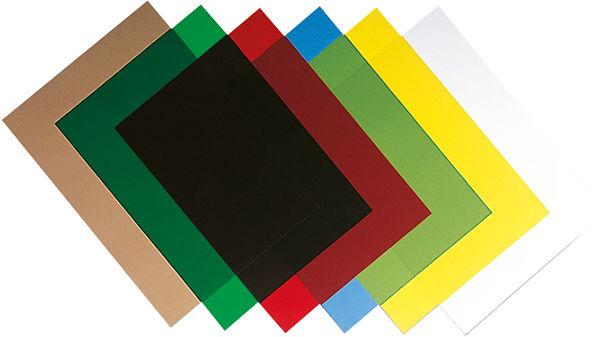 Обложка для переплета А4 пластик Fellowes матовая 280мк 1 лист 53765