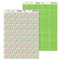 Бумага для дизайна Роса Talent А4 250г/м двухсторонняя Нежность цветов-2 5310018