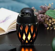 Беспроводная колонка Flame Atmosphere Speaker с пламенной подсветкой, Новинка, фото 2