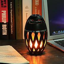 Беспроводная колонка Flame Atmosphere Speaker с пламенной подсветкой, Новинка, фото 3
