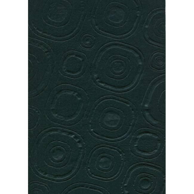 Фетр поделочный (полиэстер) 180г/м2 21,5*28см Rosa Talent EB015 ембосинг Черный, Абстракция