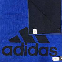 3f91254e199315 Спортивное полотенце adidas performance large DH2868 цвет:синий/чёрный