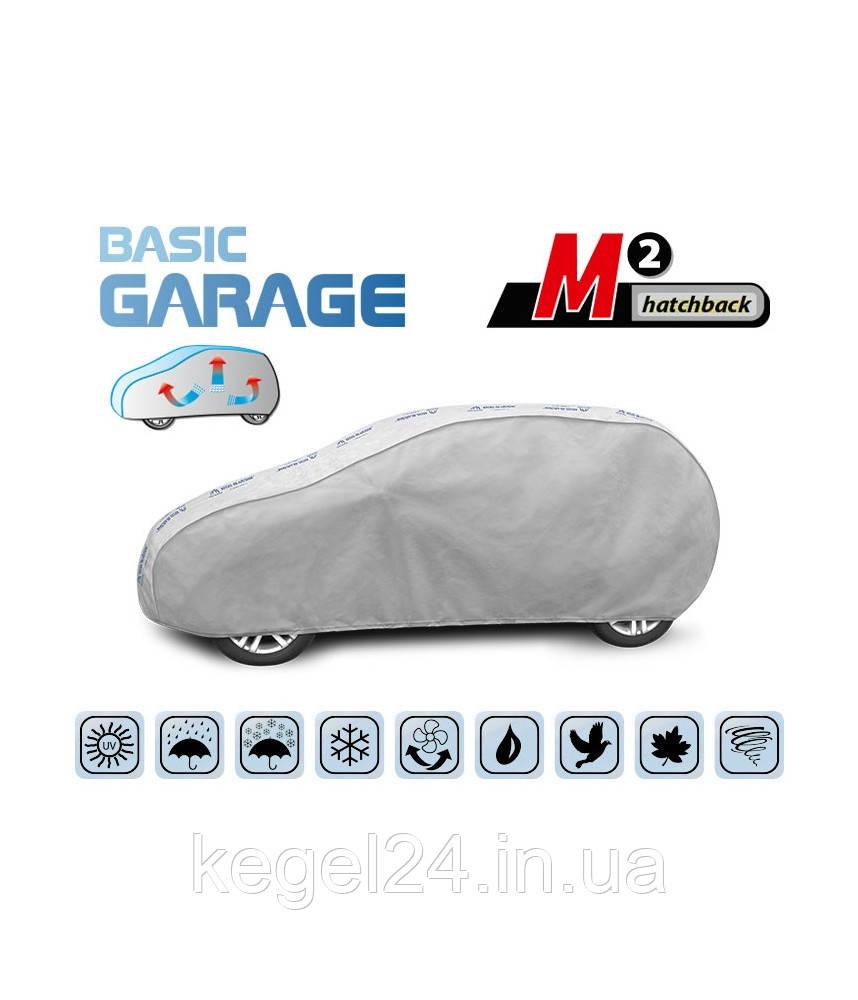"""Чохол-тент для автомобіля """"Basic Garage"""" розмір M2 Hatchback"""