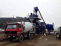Мобильный бетонный завод на колесах Marcantonini MSG 4.1.45