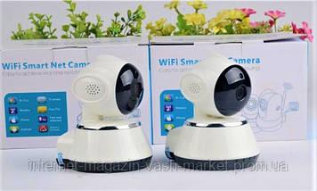 Камера видеонаблюдения WIFI Smart NET camera Q6, Новинка, фото 3