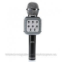 Беспроводной Bluetooth караоке-микрофон DM Karaoke WS1818, Новинка, фото 3