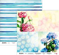 Бумага для скрапбукинга Rosa Talent 30*30см Floral Poem 16 двухсторонняя 200 г/м 5316028