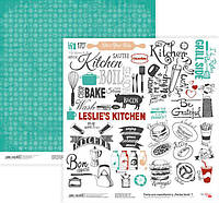 Бумага для скрапбукинга Rosa Talent 30*30см Recipe book 7 двухсторонняя 200 г/м 5316038