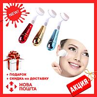 Ультразвуковая щетка для умывания и чистки лица Pobling face cleaner, Новинка
