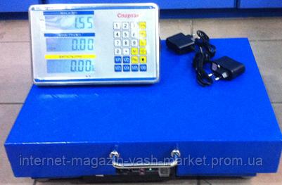 Весы торговые электронные ACS 200KG WIFI 35*45