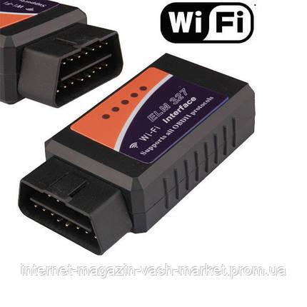 OBD2 ELM327 WI-FI, адаптер для диагностики автомобиля, фото 2