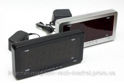 Электронные настольные часы CX 2159, фото 2