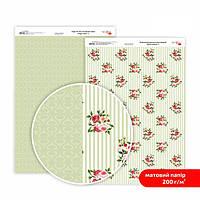 Бумага для дизайна Роса Talent А4 200г/м матовая двухсторонняя Магия роз-3 5318003