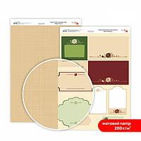 Бумага для дизайна Роса Talent А4 200г/м матовая двухсторонняя Магия роз-8 5318008