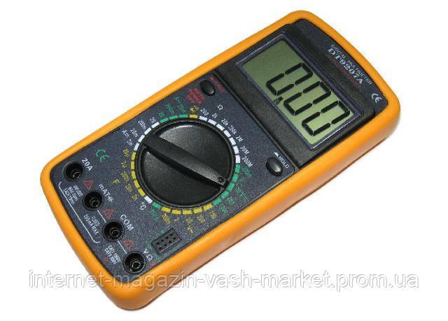 Мультиметр DT-9207A, многофункциональный цифровой тестер, мультиметр с жк дисплеем