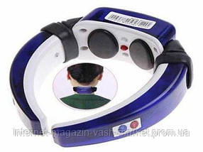 Массажер–миостимулятор для шеи Neck Therapy Instrument PL-718B, фото 3