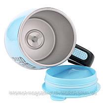 Термокружка - чашка миксер Self Mixing Mag Cup Stirring Mug 380 ml, Качество, фото 2