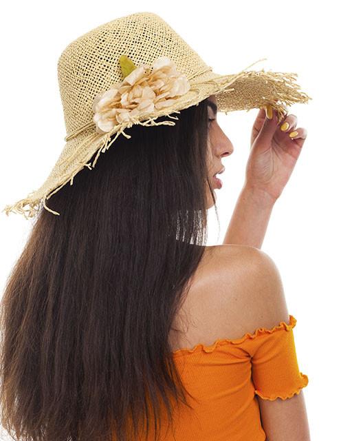 Шляпа с рваными полями