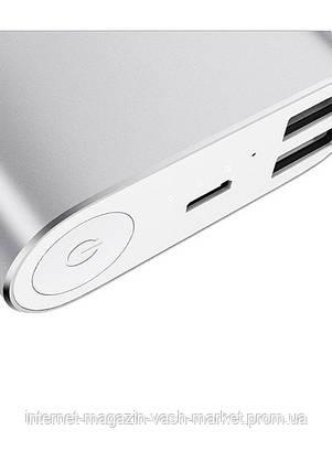 Портативное зарядное устройство Павербанк Powerbank M5 16000 silver, black, фото 2