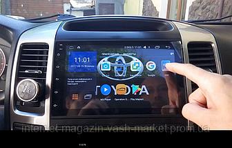 Штатная автомагнитола с GPS навигацией для автомобилей Toyota Prado 120 (2008) Android 5.0.1, Новинка, фото 2