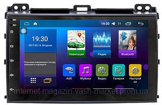 Штатная автомагнитола с GPS навигацией для автомобилей Toyota Prado 120 (2008) Android 5.0.1, Новинка, фото 3