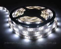 Светодиодная лента LED 5050 White, фото 2