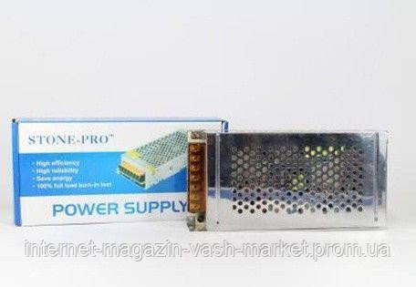Сетевой адаптер 12V 15A METAL, блок питания, зарядное устройство