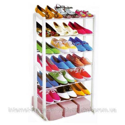 Полка для обуви Amazing Shoe Rack 21 пара., Качество, фото 2