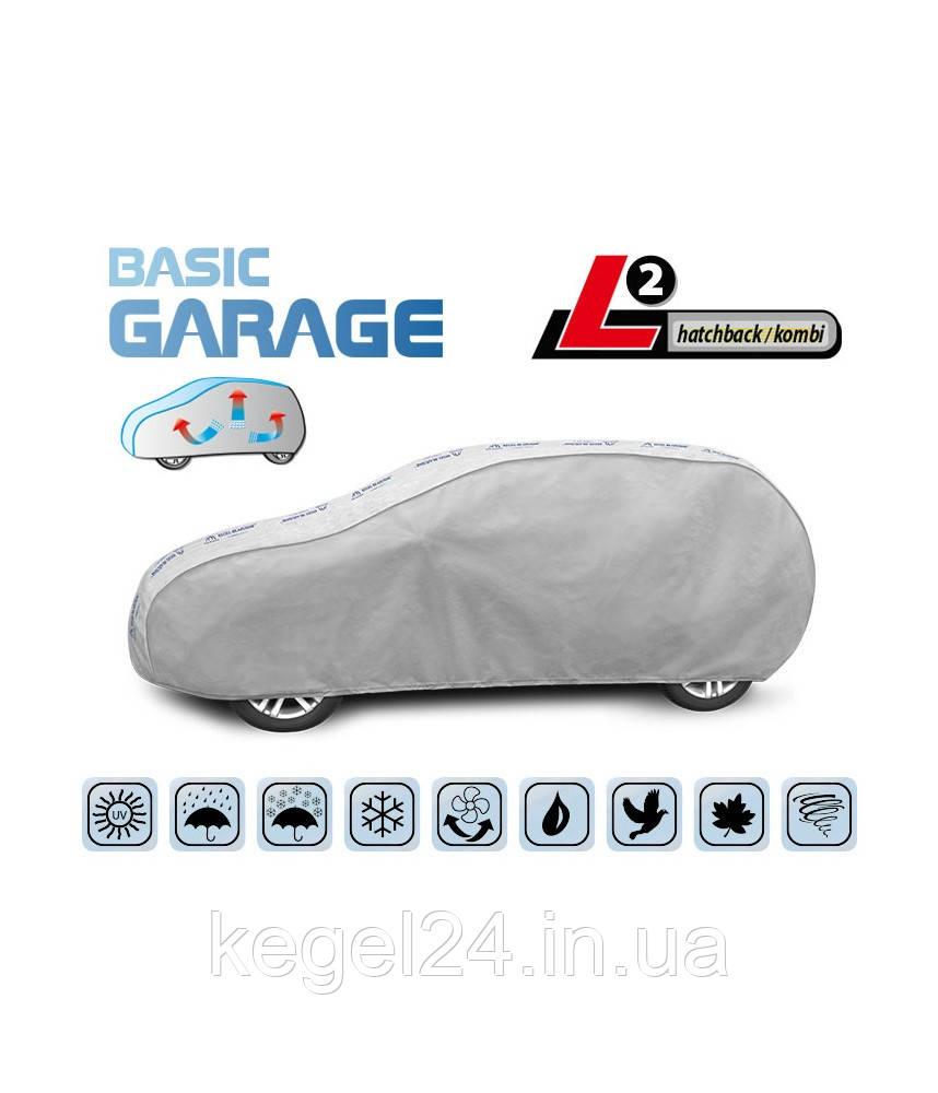 """Чохол-тент для автомобіля """"Basic Garage"""" розмір L2 Hatchback/kombi"""